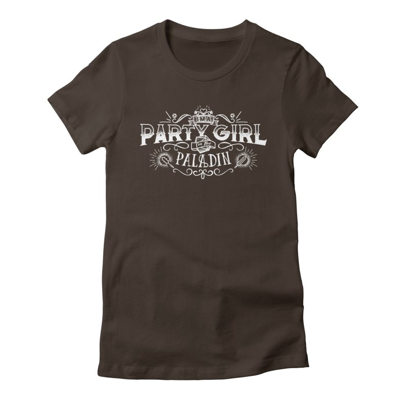 Party Girl: Paladin Women's Fitted T-Shirt by March1Studios on Threadless