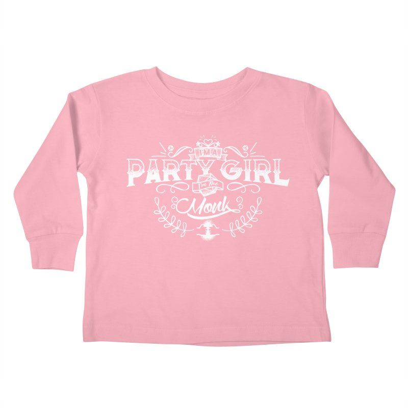 Party Girl: Monk Kids Toddler Longsleeve T-Shirt by March1Studios on Threadless