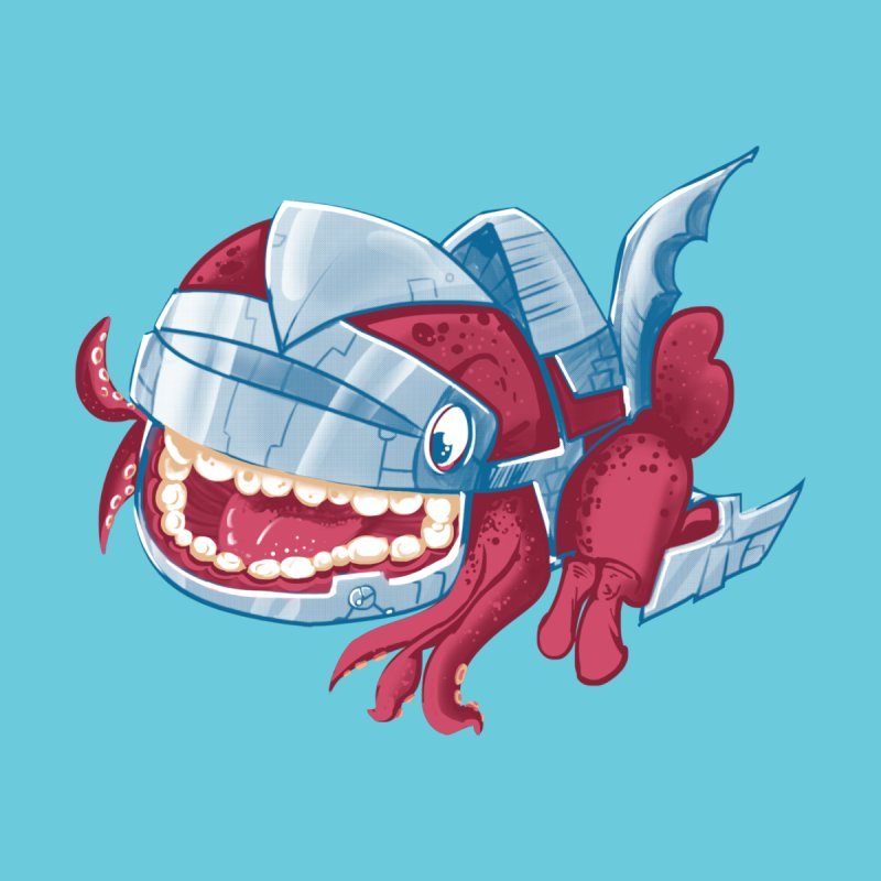 Sky Robot Monster by March1Studios on Threadless