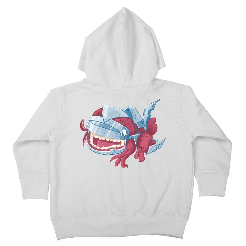 Sky Robot Monster Kids Toddler Zip-Up Hoody by march1studios's Artist Shop