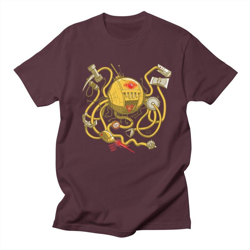 Wrecker the Robot Men's T-Shirt by March1Studios on Threadless