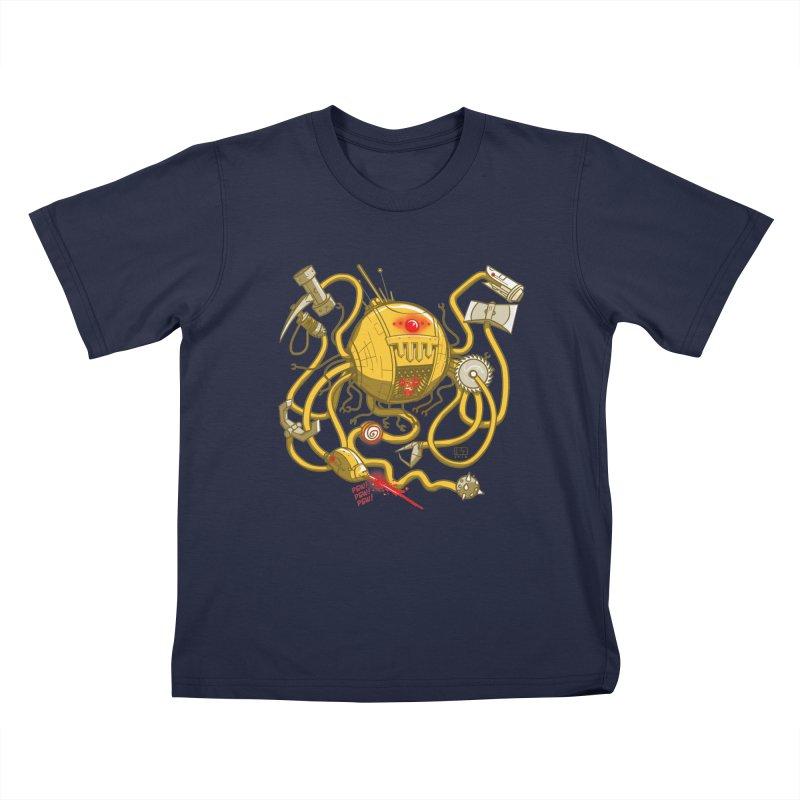 Wrecker the Robot Kids T-Shirt by March1Studios on Threadless