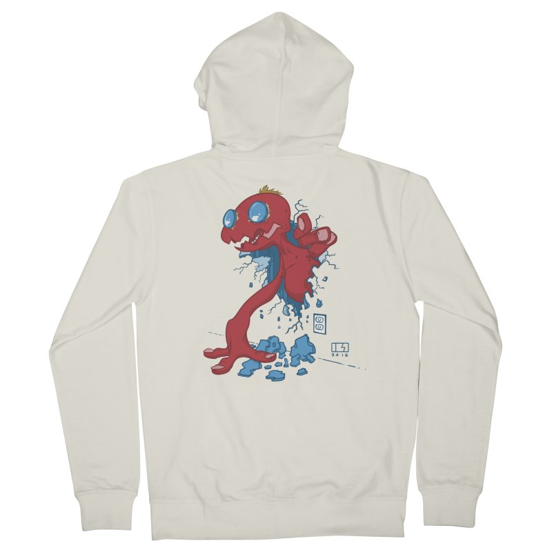 Rawr Women's French Terry Zip-Up Hoody by march1studios's Artist Shop