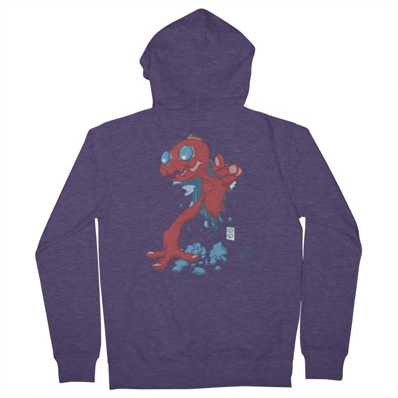 Rawr Men's Zip-Up Hoody by march1studios's Artist Shop