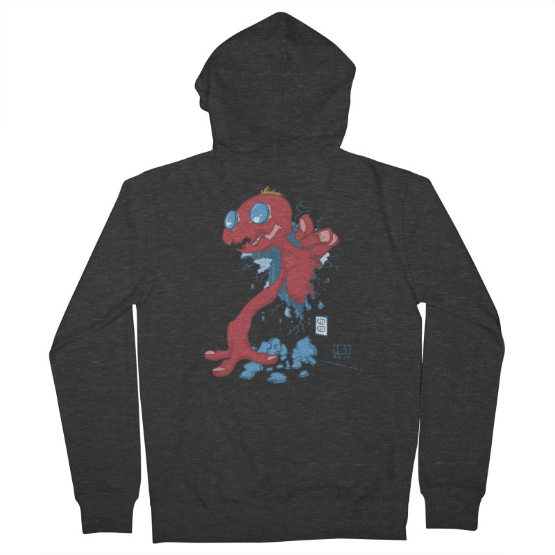 Rawr Men's French Terry Zip-Up Hoody by march1studios's Artist Shop