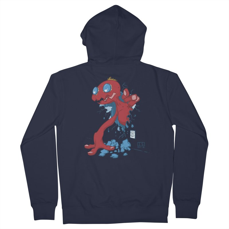 Rawr Men's French Terry Zip-Up Hoody by March1Studios on Threadless