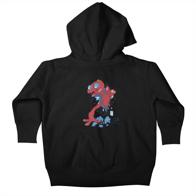 Rawr Kids Baby Zip-Up Hoody by march1studios's Artist Shop