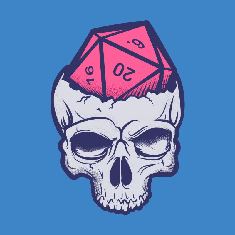 Dice For Brains Men's T-Shirt by March1Studios on Threadless