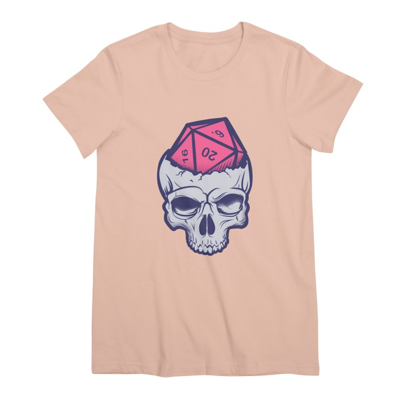 Dice For Brains Women's Premium T-Shirt by March1Studios on Threadless