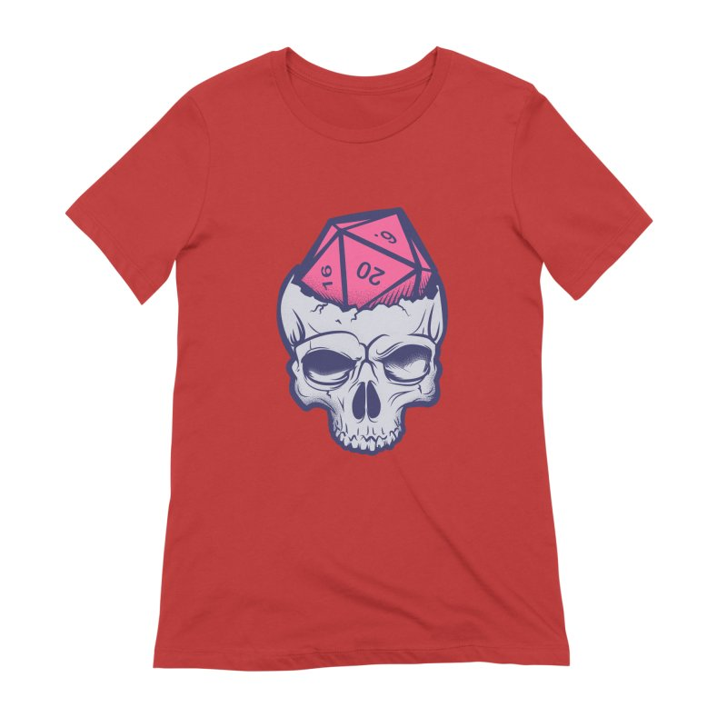 Dice For Brains Women's Extra Soft T-Shirt by March1Studios on Threadless