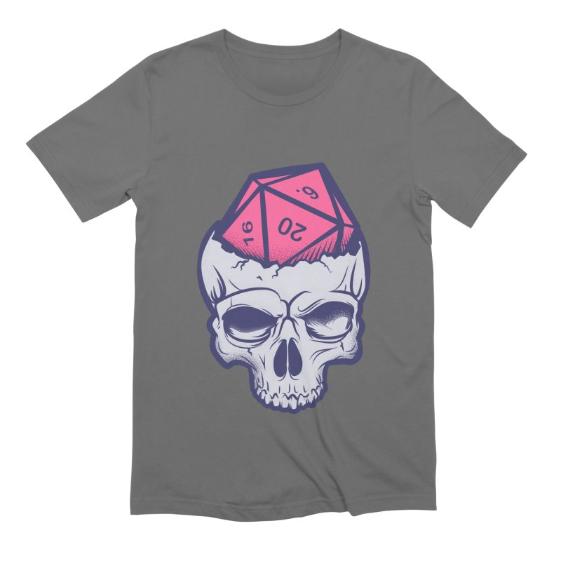 Dice For Brains Men's Extra Soft T-Shirt by March1Studios on Threadless