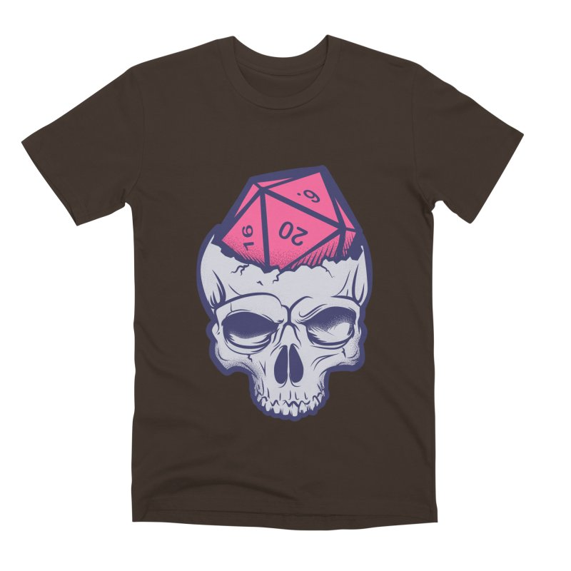 Dice For Brains Men's Premium T-Shirt by March1Studios on Threadless