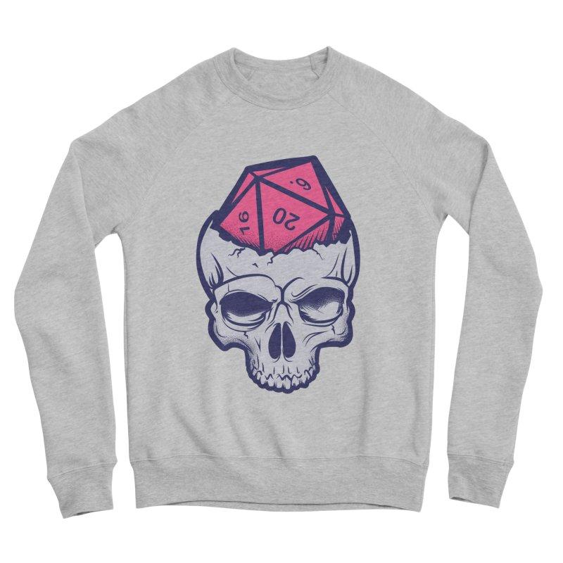Dice For Brains Women's Sponge Fleece Sweatshirt by March1Studios on Threadless