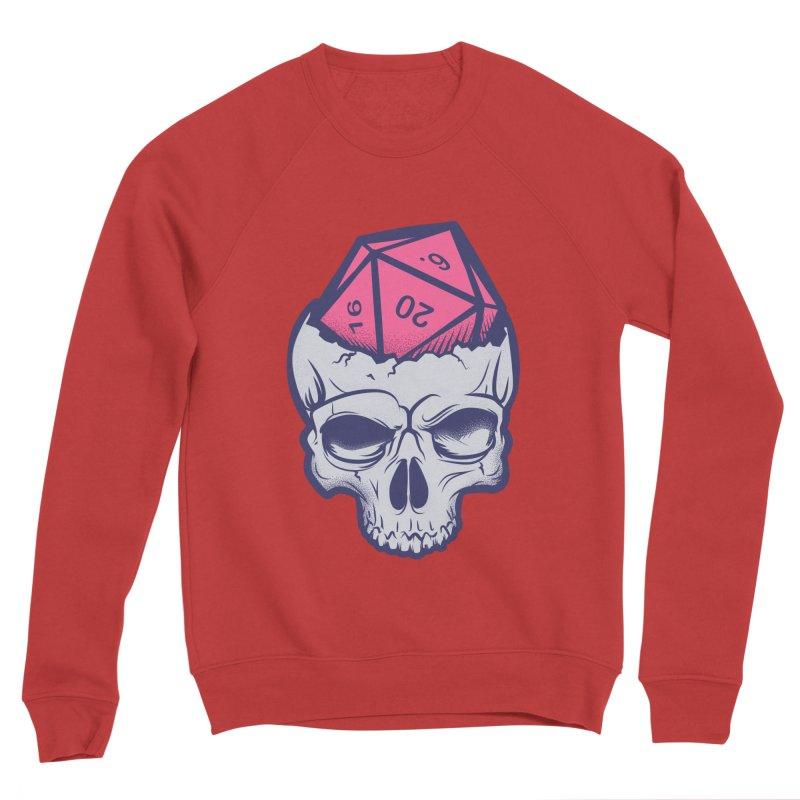 Dice For Brains Men's Sponge Fleece Sweatshirt by March1Studios on Threadless