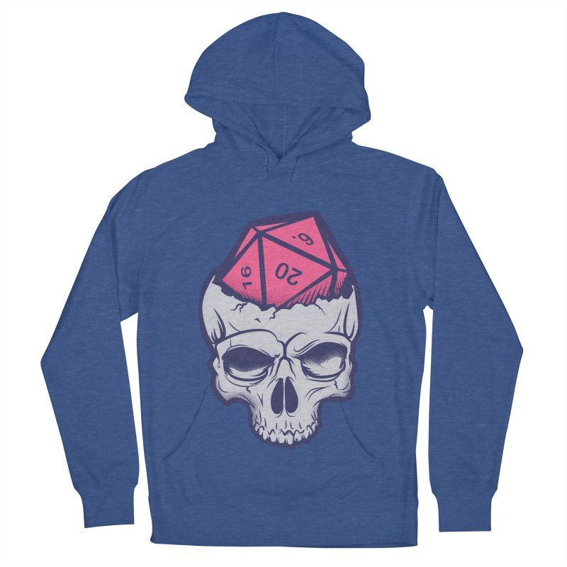 Dice For Brains Women's French Terry Pullover Hoody by March1Studios on Threadless