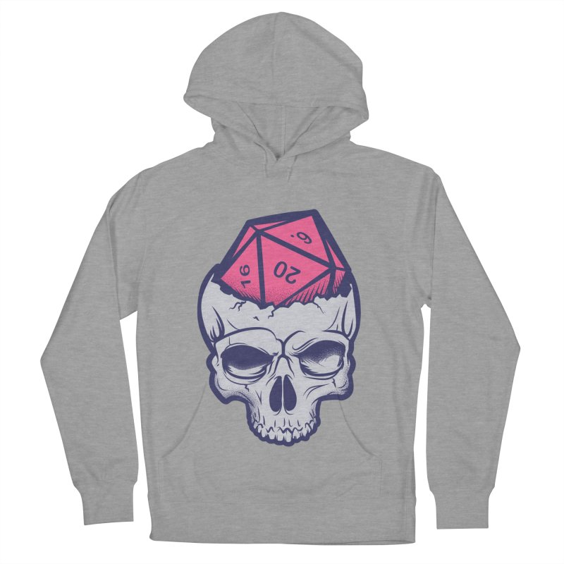 Dice For Brains Men's French Terry Pullover Hoody by March1Studios on Threadless