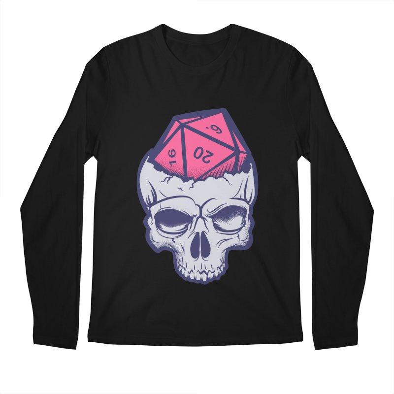 Dice For Brains Men's Regular Longsleeve T-Shirt by March1Studios on Threadless