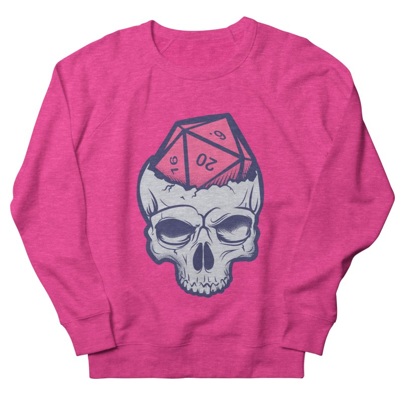 Dice For Brains Women's French Terry Sweatshirt by March1Studios on Threadless