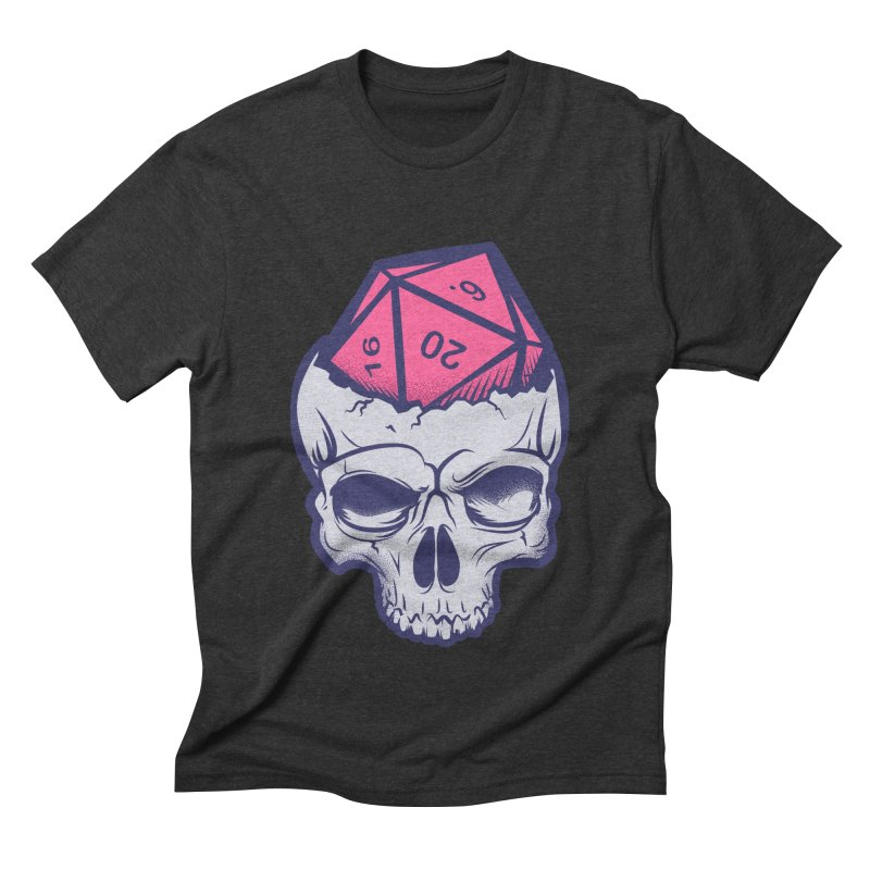 Dice For Brains Men's Triblend T-Shirt by March1Studios on Threadless