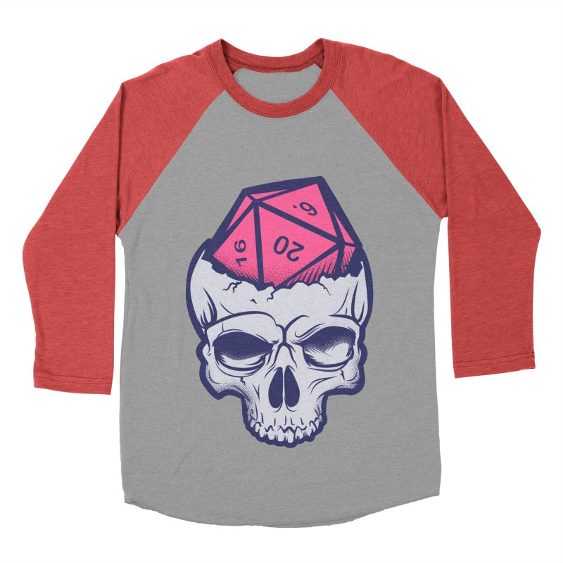Dice For Brains Women's Baseball Triblend Longsleeve T-Shirt by March1Studios on Threadless
