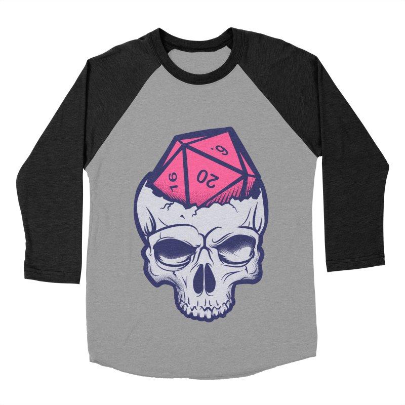 Dice For Brains Women's Baseball Triblend Longsleeve T-Shirt by March1Studios on Threadless