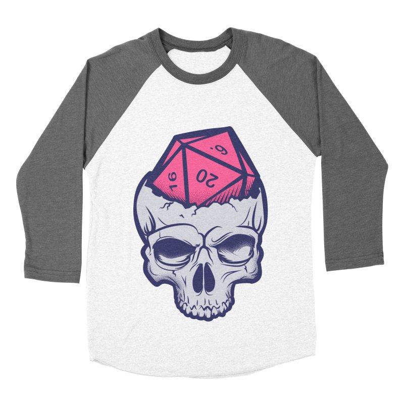 Dice For Brains Men's Baseball Triblend Longsleeve T-Shirt by March1Studios on Threadless