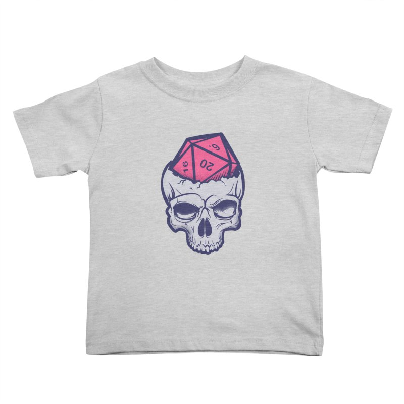 Dice For Brains Kids Toddler T-Shirt by March1Studios on Threadless