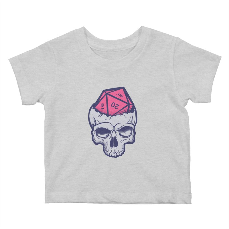 Dice For Brains Kids Baby T-Shirt by March1Studios on Threadless