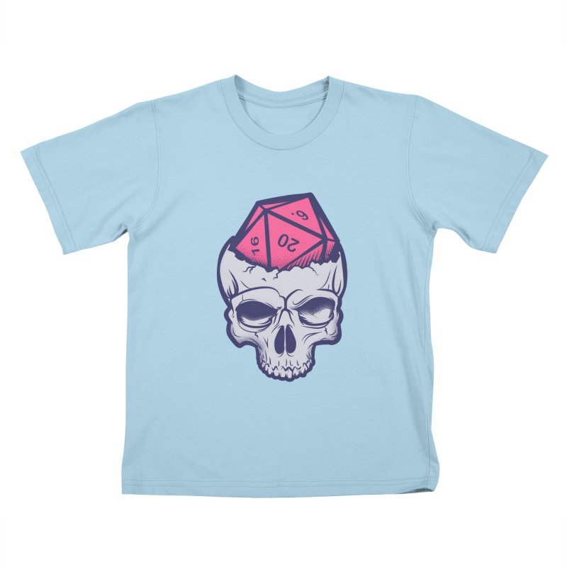 Dice For Brains Kids T-Shirt by March1Studios on Threadless