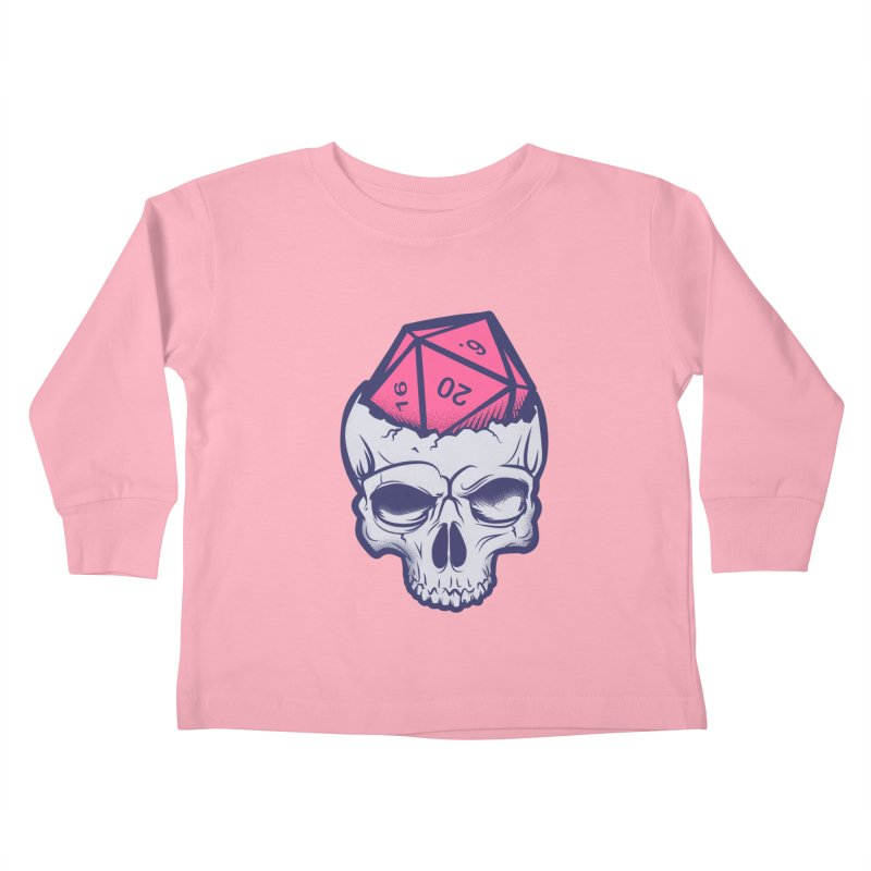 Dice For Brains Kids Toddler Longsleeve T-Shirt by March1Studios on Threadless