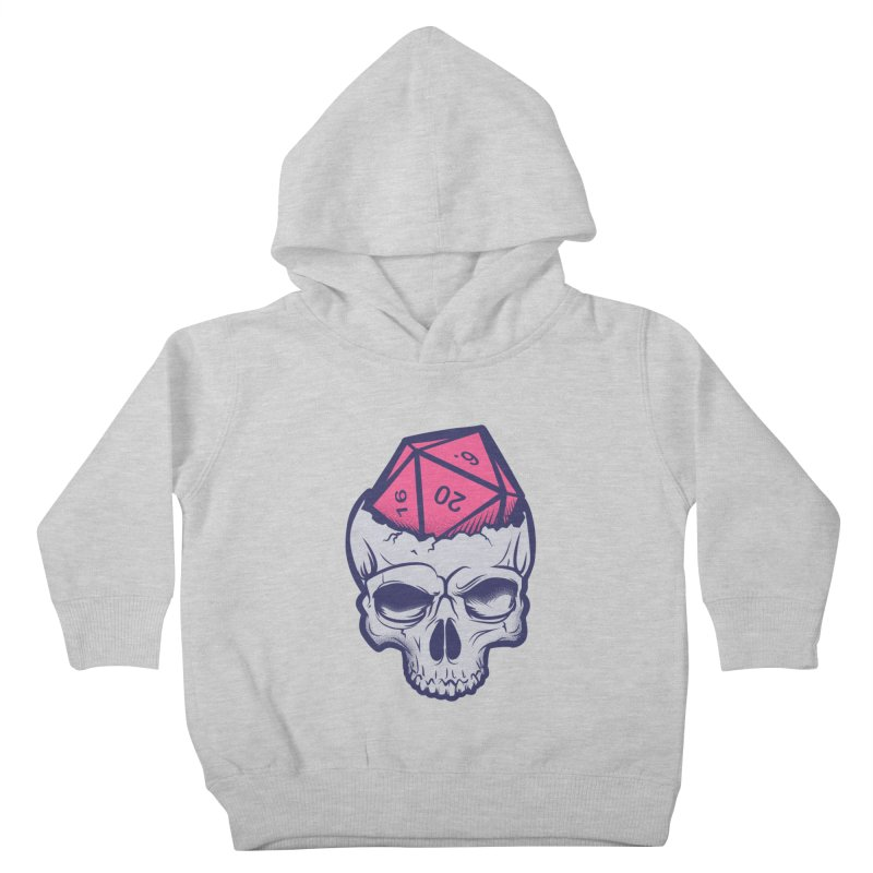 Dice For Brains Kids Toddler Pullover Hoody by March1Studios on Threadless