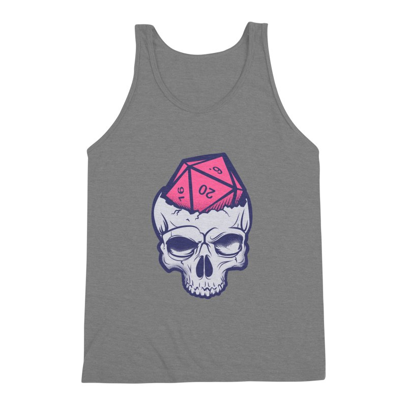 Dice For Brains Men's Triblend Tank by March1Studios on Threadless
