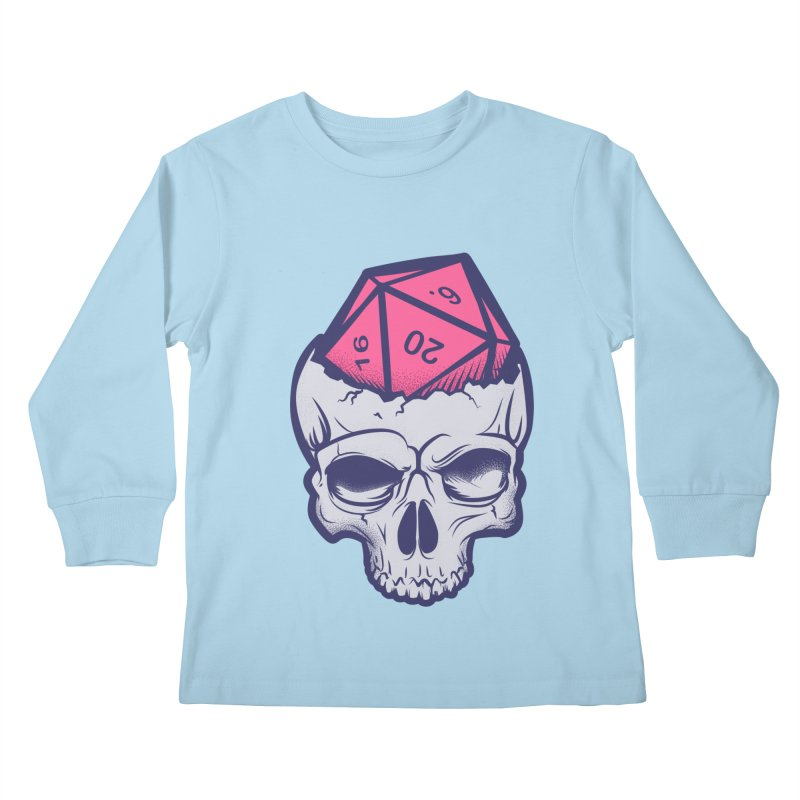 Dice For Brains Kids Longsleeve T-Shirt by March1Studios on Threadless