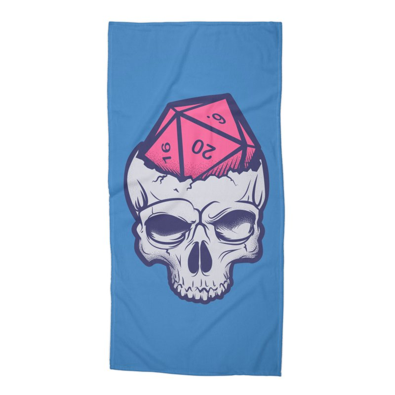 Dice For Brains Accessories Beach Towel by March1Studios on Threadless