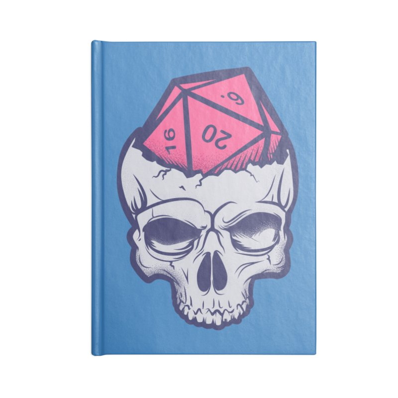 Dice For Brains Accessories Lined Journal Notebook by March1Studios on Threadless