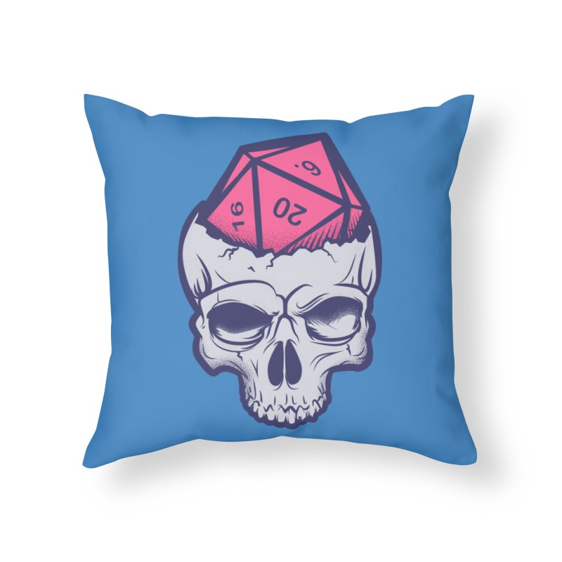 Dice For Brains Home Throw Pillow by March1Studios on Threadless