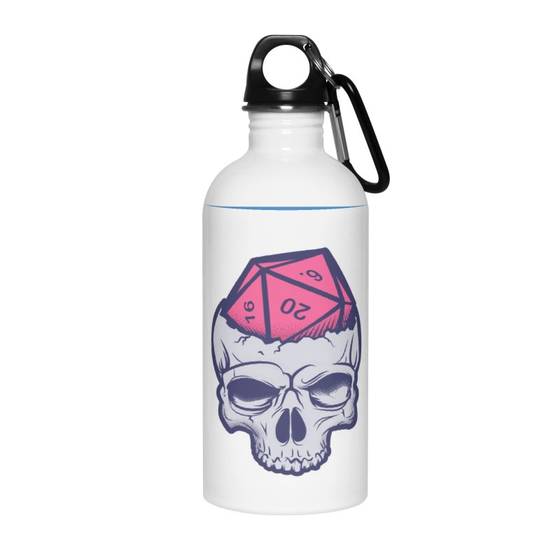 Dice For Brains Accessories Water Bottle by March1Studios on Threadless