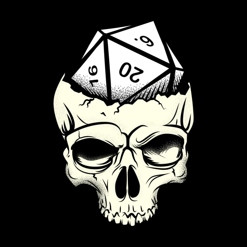 White Die of Death by March1Studios on Threadless