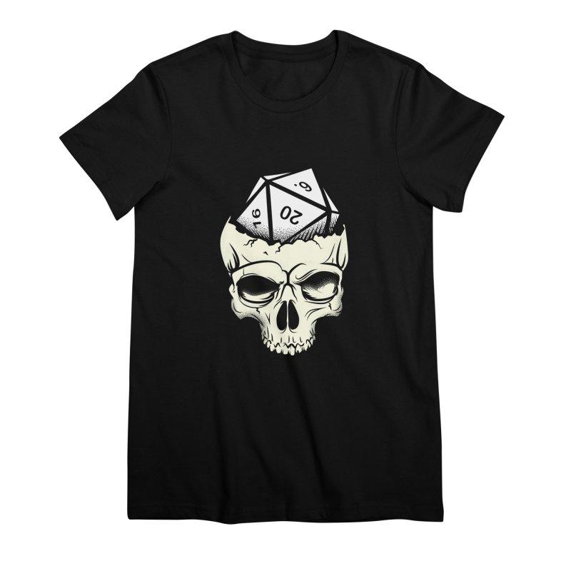 White Die of Death Women's Premium T-Shirt by March1Studios on Threadless