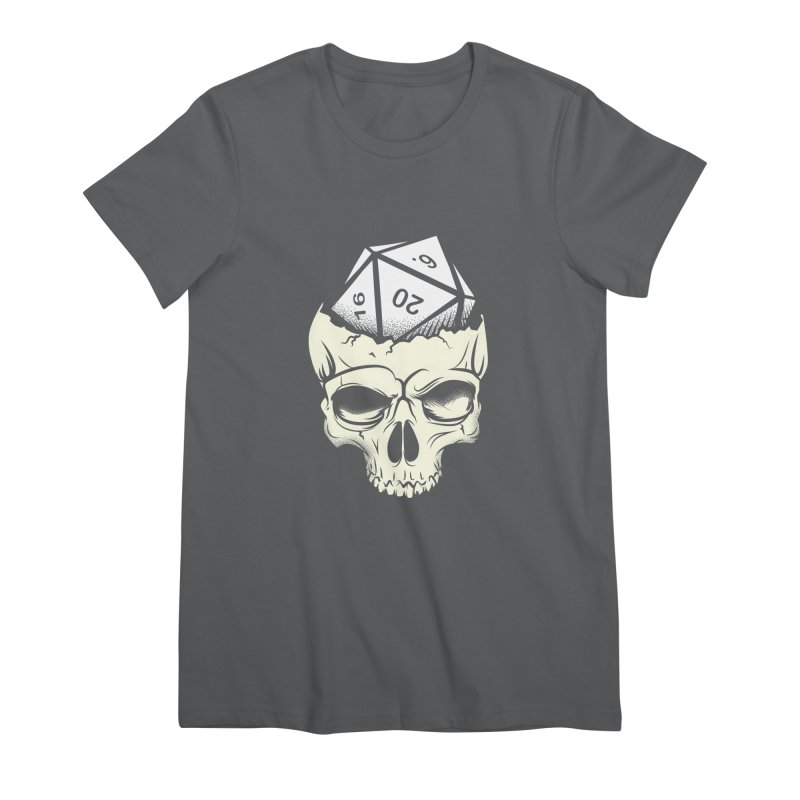 White Die of Death Women's Premium T-Shirt by March1Studios on Threadless