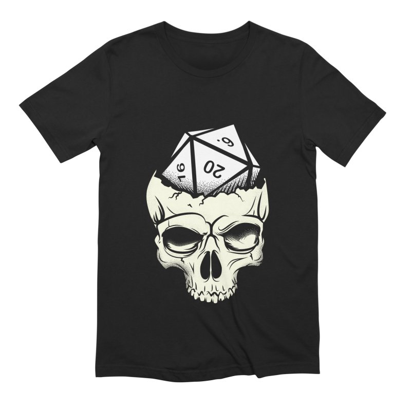 White Die of Death Men's Extra Soft T-Shirt by March1Studios on Threadless