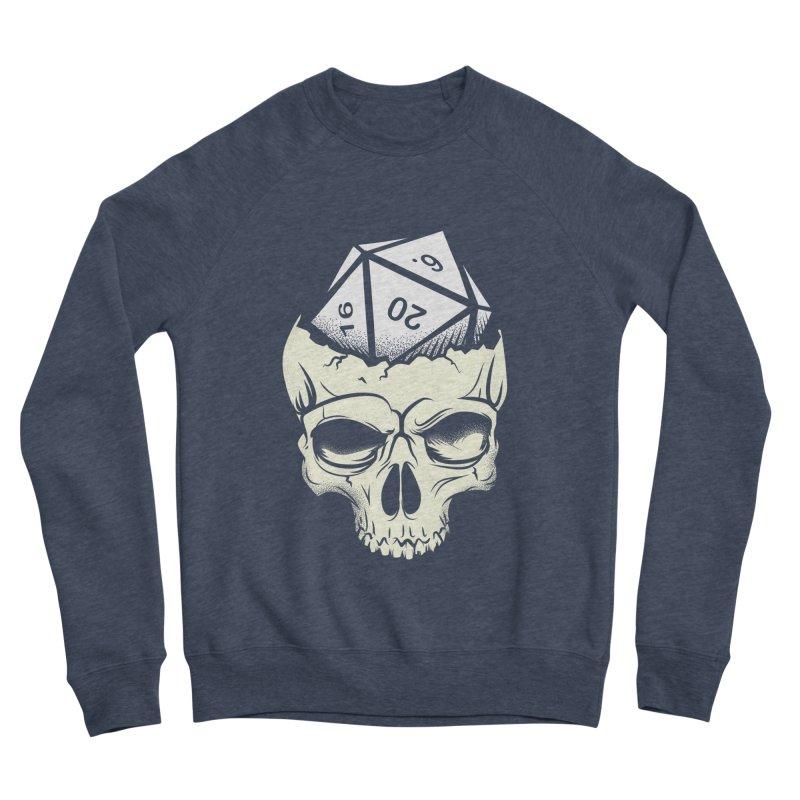 White Die of Death Women's Sponge Fleece Sweatshirt by March1Studios on Threadless