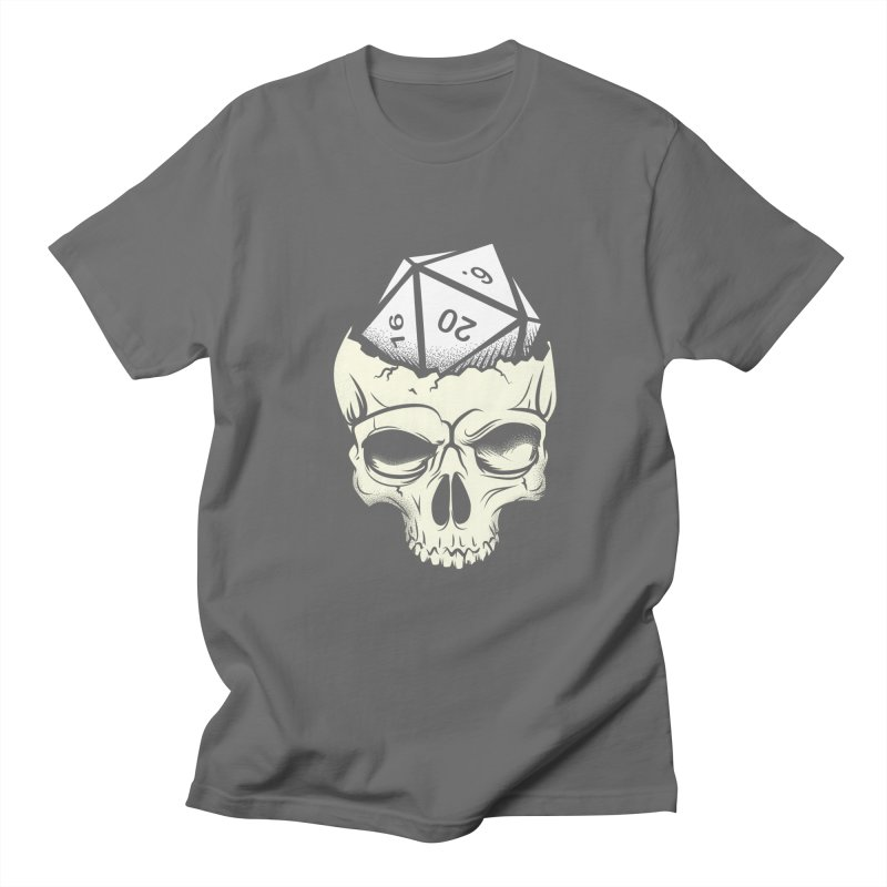 White Die of Death Men's T-Shirt by March1Studios on Threadless