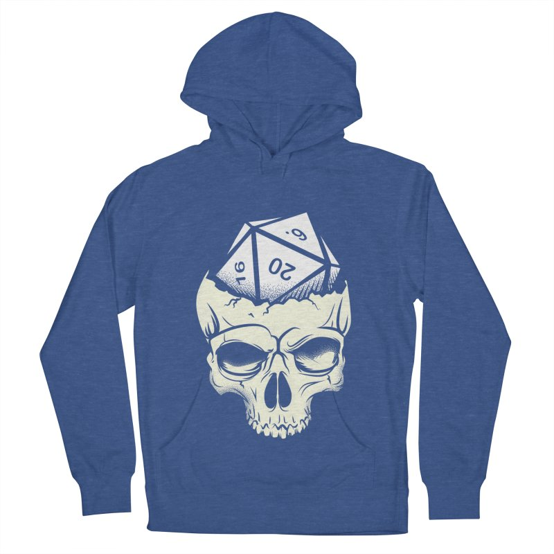 White Die of Death Women's French Terry Pullover Hoody by March1Studios on Threadless
