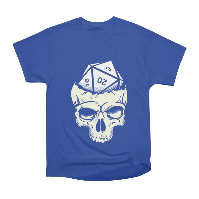 White Die of Death Women's Heavyweight Unisex T-Shirt by March1Studios on Threadless