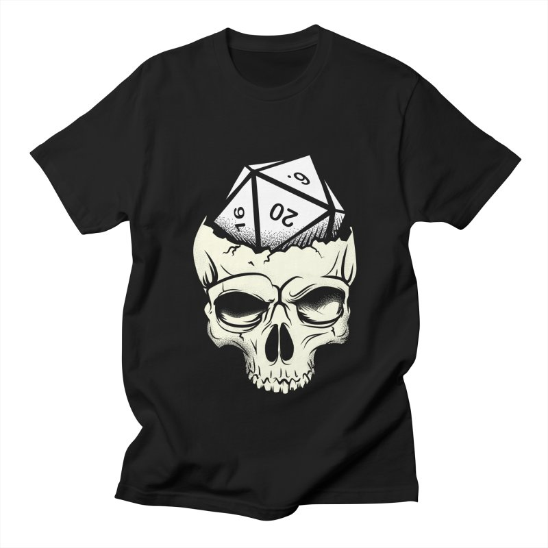 White Die of Death Men's Regular T-Shirt by March1Studios on Threadless