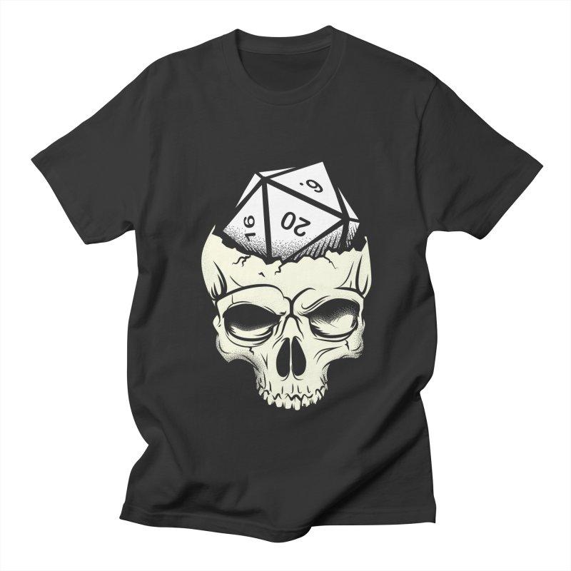 White Die of Death Women's Regular Unisex T-Shirt by March1Studios on Threadless