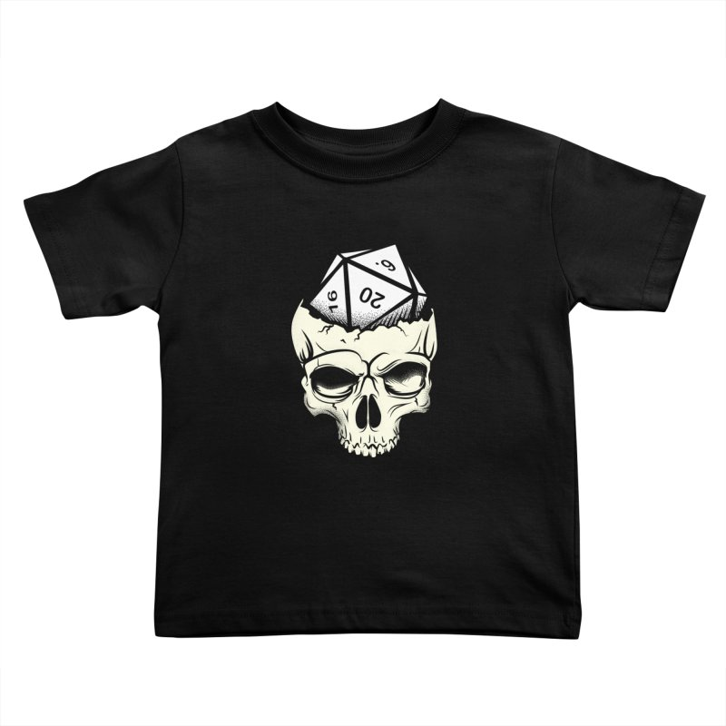 White Die of Death Kids Toddler T-Shirt by March1Studios on Threadless