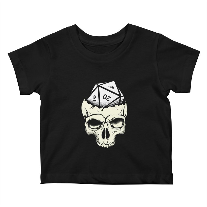 White Die of Death Kids Baby T-Shirt by March1Studios on Threadless
