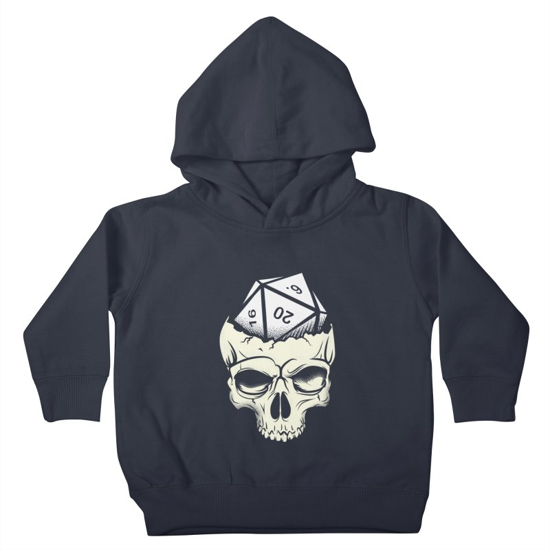 White Die of Death Kids Toddler Pullover Hoody by March1Studios on Threadless